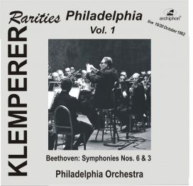 ARC-WU 137/28 Klemperer in Philadelphia Vol.1